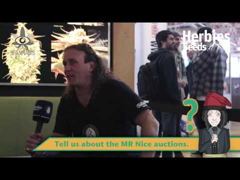 Mr Nice Seeds @ Spannabis 2015 Barcelona