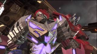 Boss Battle - Till All Are One! As Optimus Prime - Transformers Fall of Cybertron Campaign