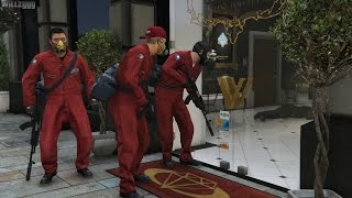 GTA 5 (PS4) - Mission #13 - The Jewel Store Job (Smart Approach) [Gold Medal]