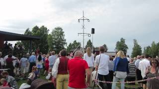 2013 mid-summer  holiday celebration in Sweden