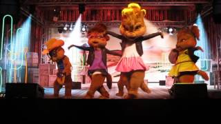 alvin & the chipmunks live - cottoneyed joe- cape girardeau, mo. 11/17/15