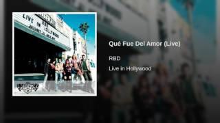 Qué Fue Del Amor (Live)