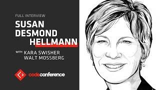 Ending infectious diseases   Susan Desmond-Hellman, CEO Gates Foundation   Code Conference 2016