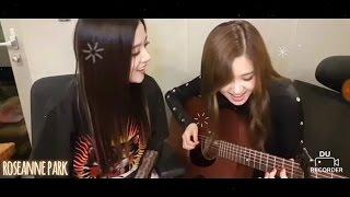 "Blackpink's Rosé & Jisoo sang ""Stay"""