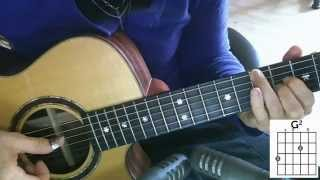 The Lord Is My Shepherd (Psalm 23) by Keith & Melody Green - Guitar Tutorial - Cover