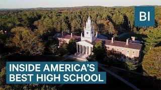 Phillips Academy in Andover is the best high school in America