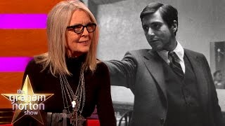 Diane Keaton Says They Wanted to Fire Al Pacino from The Godfather | The Graham Norton Show
