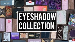 My EYESHADOW PALETTE COLLECTION: DECLUTTER & Mini REVIEWS | Jamie Paige