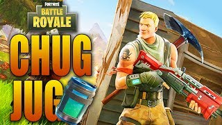 *NEW* LEGENDARY CHUG JUG Item in Fortnite: Battle Royale