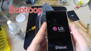 LG V10 бутлуп / LG V10 Bootloop