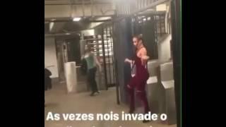"""Gravação do novo clipe da Anitta """"Paradinha"""" nos Estados Unidos"""