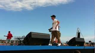 N-Dubz performing 'Playing with fire' at T4 on the Beach 2011 - Front Stage