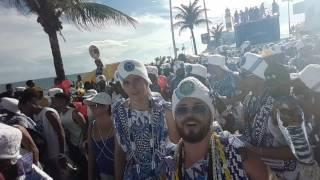 Filhos de Gandhy 2017 2°Dia Na Barra.