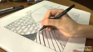 Zentangle Doodle For Beginners