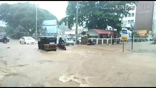 Heavy rain effect in Mangalore and Udupi