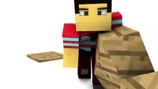 Break A Table (Minecraft Parkour Animation)