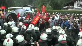 Protesters and police clash as G7 leaders prepare to discuss corruption and trade   Global   The Gua