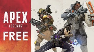 FREE GAME: Team-Based Battle Royale First-Person Shooter Apex Legends