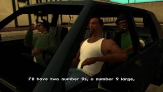 """Big Smoke's order but each number is replaced by him saying """"Ohhh"""""""