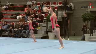 FIAC 2018 JUN BAL UKS TARGOWEK Kamila BRYSKIEWICZ Izabela KRASUSKA