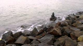 Miracle Lord Shiva coming out of Sea