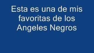 Angeles Negros ,Respirando, del LP Te estas haciendo mujer