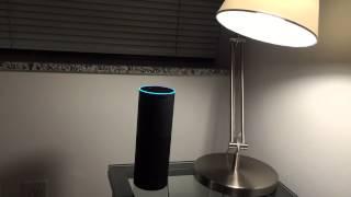 Goodnight Alexa - Amazon Echo and Philips Hue Light Bulbs