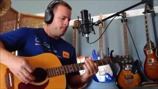 The Bee Gees/Michael Bolton - To love somebody (Acoustic cover live by Bluemarin)