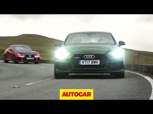 Audi RS5 vs Lexus RC F   better than a BMW M4 or Mercedes-AMG C63?   Autocar