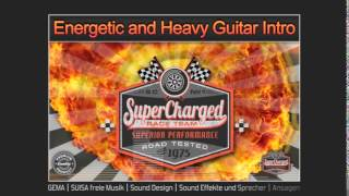 Royalty Free Music | Energetic and Heavy Guitar Opener