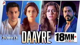 Daayre - Dilwale | Shah Rukh Khan| Kajol | Varun | Kriti | Official Music Video 2015 width=