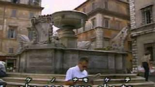 una lacrima sul viso BOBBY SOLO. Karaoké italien collection BULLA