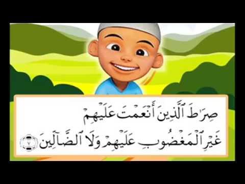 Download Video QS. Al-Fatihah, Al-Ikhlas, Al-Falaq & An-Nas - Belajar Mengaji Bersama Ipin & Upin