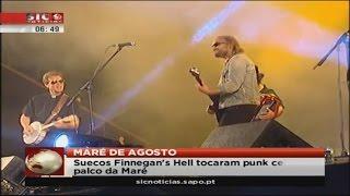 Finnegan's Hell live at Maré de Agosto (The Azores, Portugal)