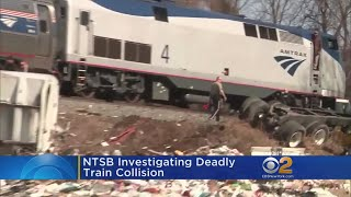 NTSB Investigating Deadly Train Crash In Virginia