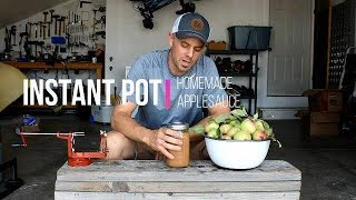 INSTANT POT RECIPES-- Homemade Applesauce