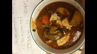 Stobach Gaelac - Scottish Stout Stew - Vegan, Oil Free