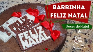 BARRINHA FELIZ NATAL – DOCES DE NATAL