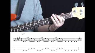 Roy Orbison - Pretty Woman (Bass cover with tabs in video)
