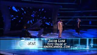American Idol 2011 Jacob Lusk, Top 8, Bridge Over Troubled Water 720p