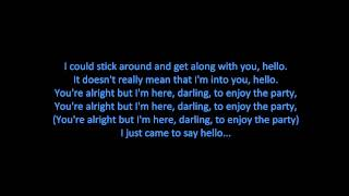 Martin Solveig & Dragonette - Hello (ON SCREEN LYRICS)