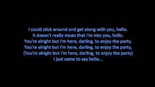 Martin Solveig & Dragonette - Hello (ON SCREEN LYRICS)