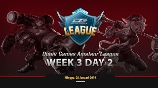MOBILE LEGENDS : XCN VS BOOM ID Dunia Games Amateur League - Week 3 Day 2