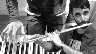 Nuvole Bianche - Ludovico Einaudi   Piano (GuillerMusico) y flauta (Álvaro Funes) (Cover)