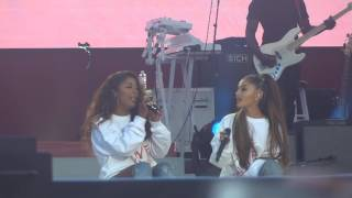 One Love Manchester - Victoria Monet & Ariana Grande - Better Days - 04/06/17