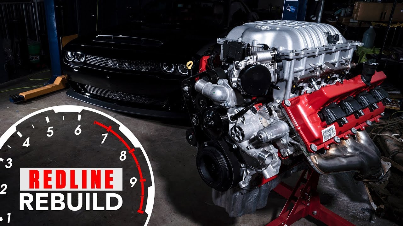840-hp Dodge Demon Hemi goes from parts to powerhouse on Redline Rebuild