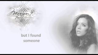 [HD] Marion Raven - Found Someone with Lyrics