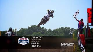 Lucas Oil Pro Motocross Championship, Tennessee 2017