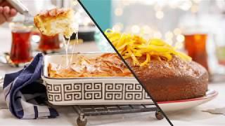Refika Birgül'den Portakallı Islak Kek ve Yufkadan Kolay Börek Tarifi