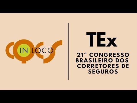 Imagem post: TEx no 21º Congresso  Brasileiro dos Corretores de Seguros